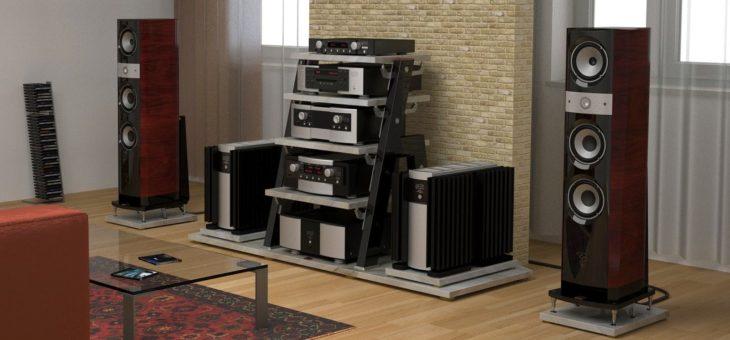 Установка акустических систем для дома